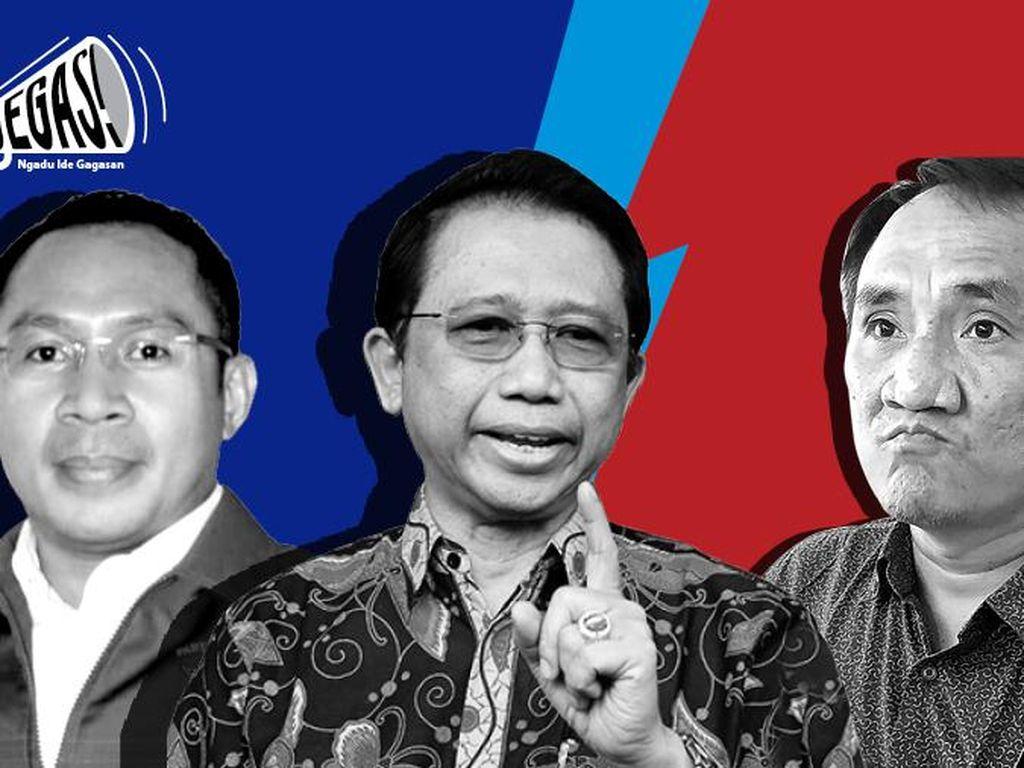 Kubu Moeldoko vs Kubu AHY Soal Pencabutan Gugatan Marzuki Alie