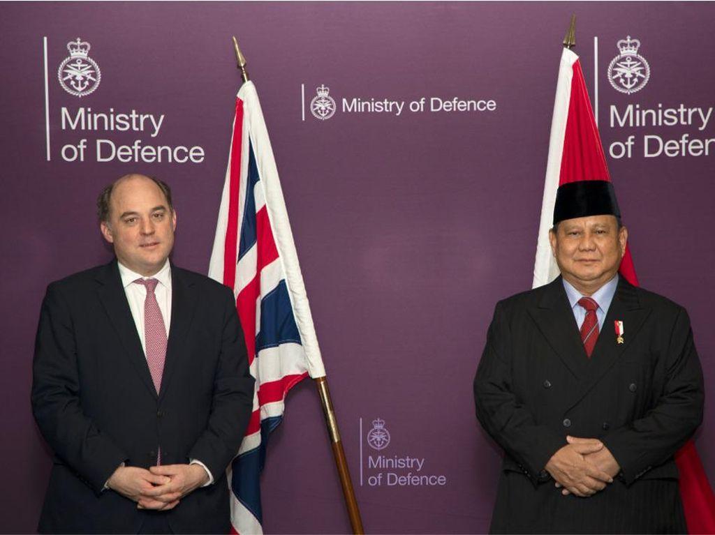 Menhan Prabowo Kunjungi London Bertemu Menhan Inggris, Ini yang Dibahas
