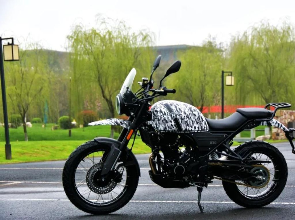 Motor China Mirip Royal Enfield Himalayan, Lebih Murah Rp 75 Jutaan