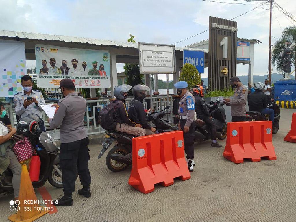 Dukung Kampung Sehat 2 NTB, Otoritas Pelabuhan Lembar Perketat Prokes