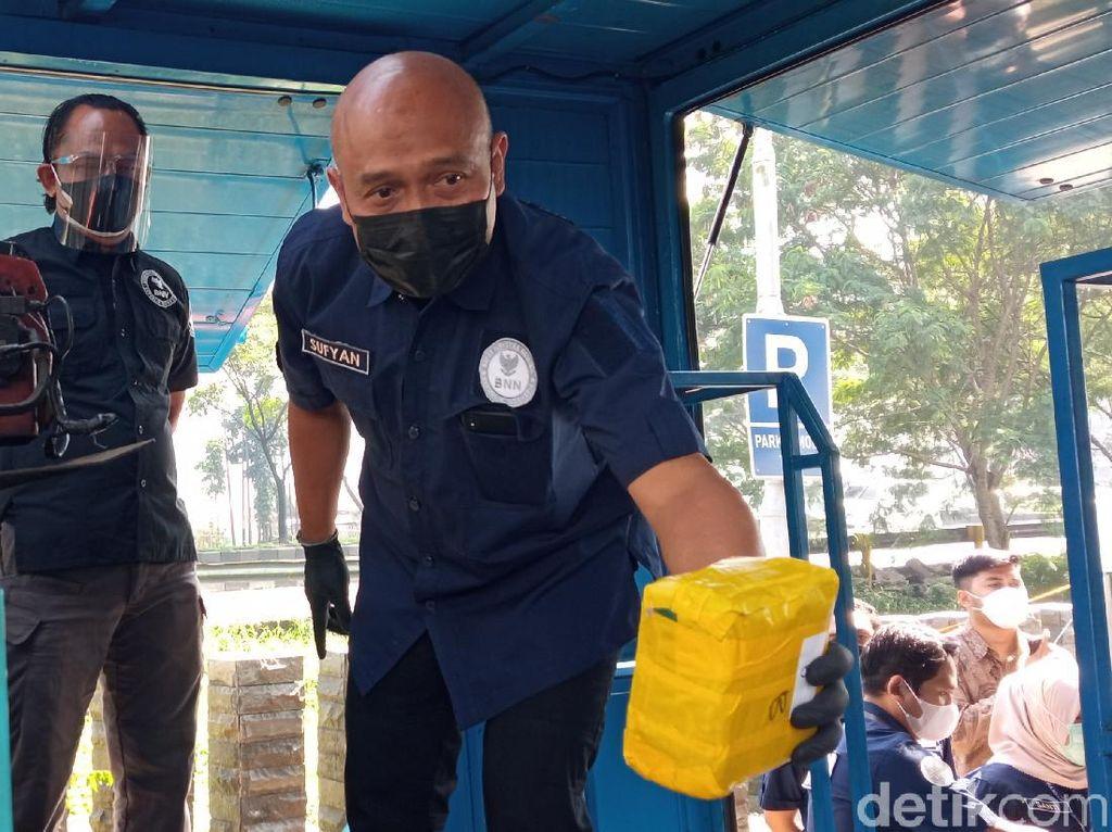 7,7 Kg Sabu Asal Aceh Gagal Beredar di Jawa Barat