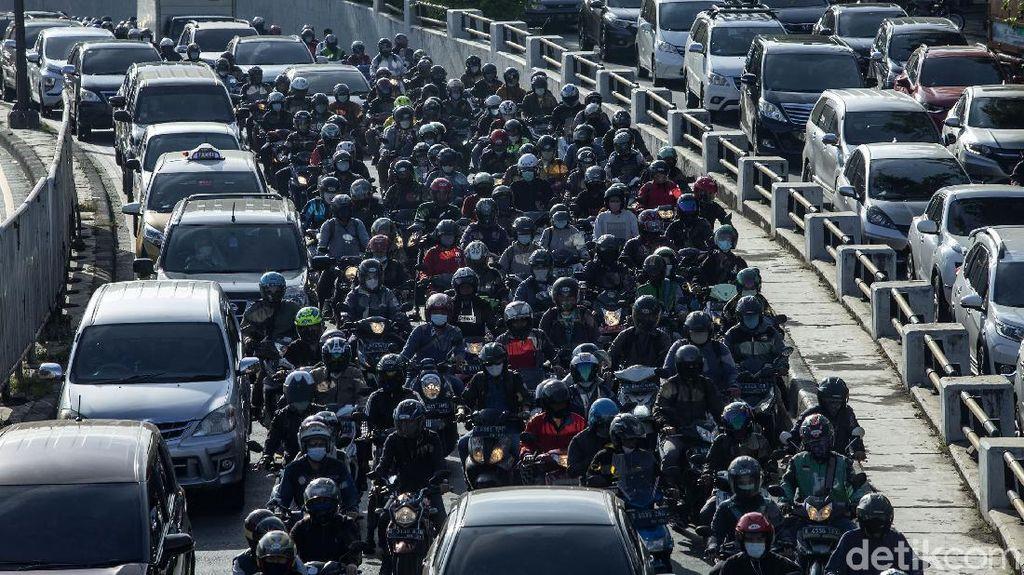 Macet Jakarta Serasa Tidak Ada Pandemi