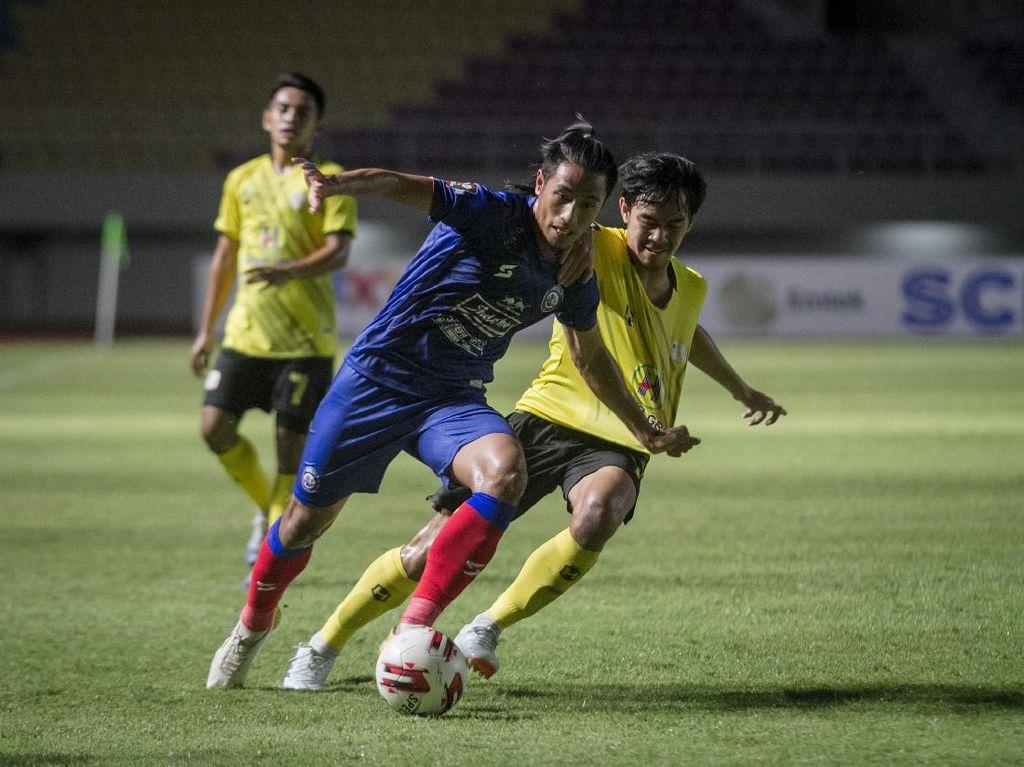 Hasil Piala Menpora 2021: Barito Putera Tundukkan Arema 2-1