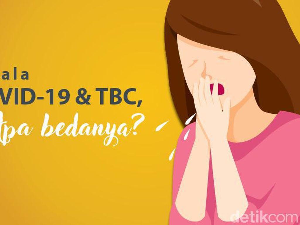 Sama-sama Menyerang Pernapasan, Ini Bedanya Gejala TBC Vs COVID-19
