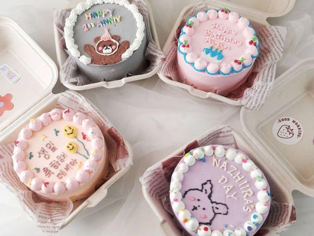 Gemas! Ini 5 Tempat Beli Lunch Box Cake Korea yang Dekorasinya Lucu
