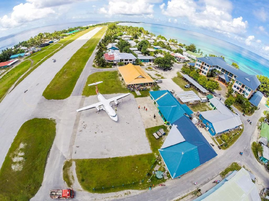 Potret Tuvalu, Negeri yang Mendadak Tajir Gegara Internet