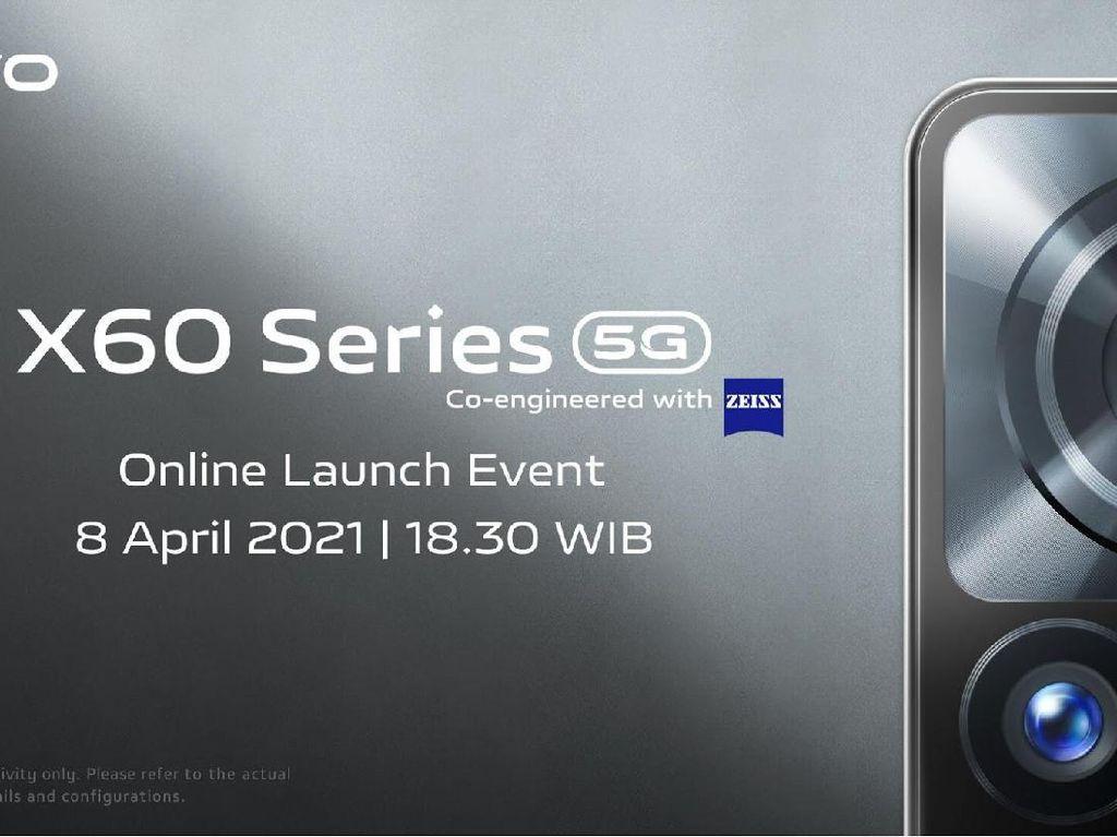 Bocoran Vivo X60 yang Meluncur 8 April: Sistem Kamera ZEISS-Sudah 5G