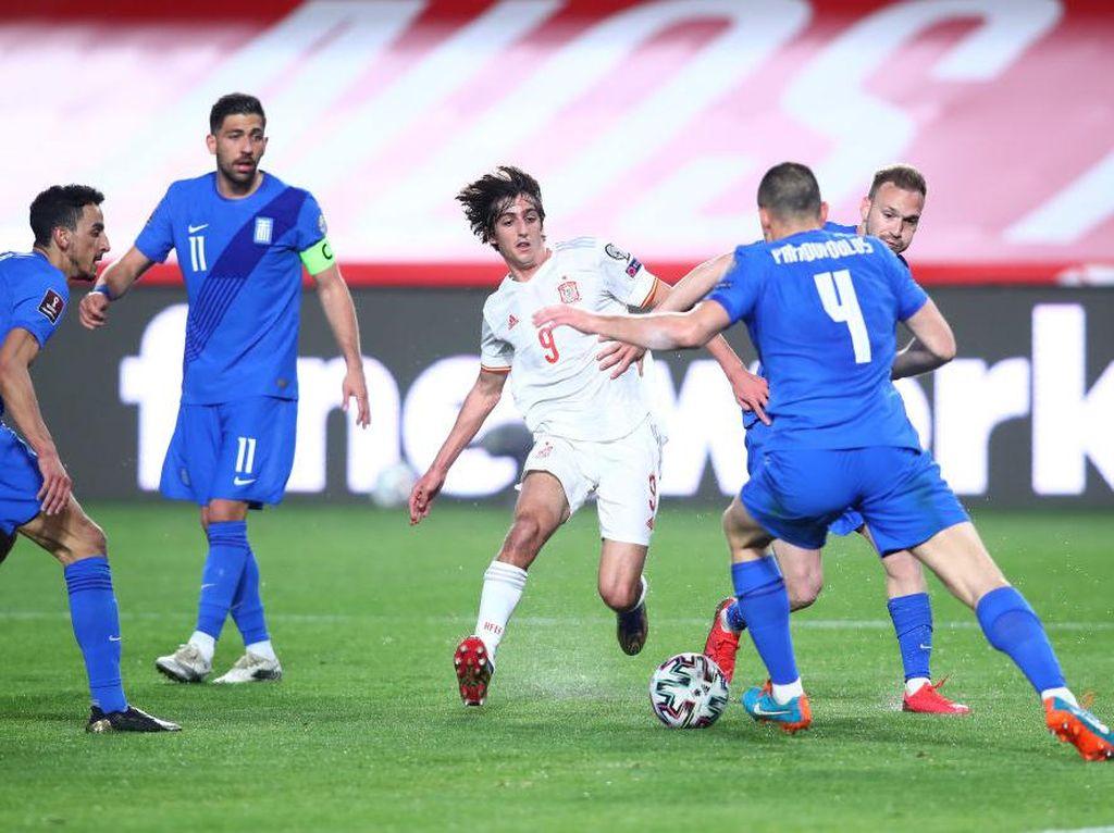 Spanyol Ditahan Imbang Yunani di Kualifikasi Piala Dunia 2022