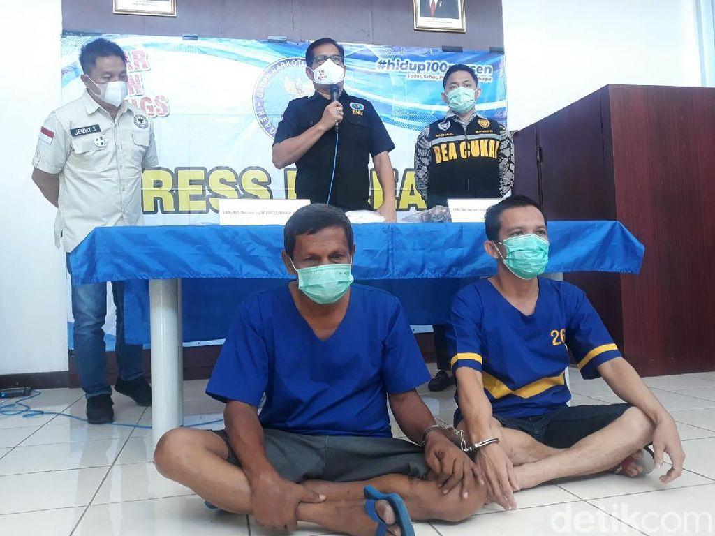 Tangkap 2 Kurir dari Aceh, BNN Banten Sita 3 Kilogram Sabu
