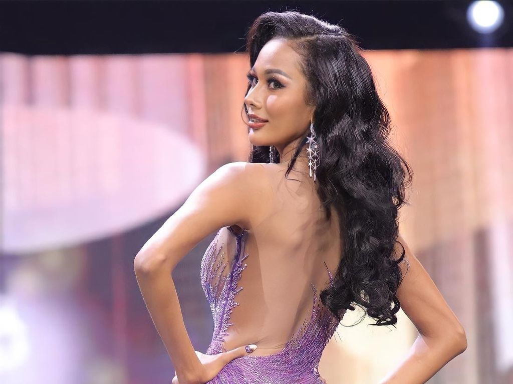 Aurra Kharisma Runner Up 3 Miss Grand International, Bikin Bunda Bangga!