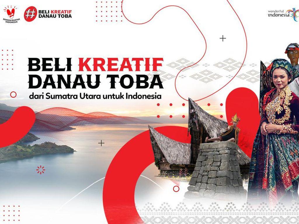 Tak Menyerah, UMKM Sumatra Utara Bergabung di Beli Kreatif Danau Toba