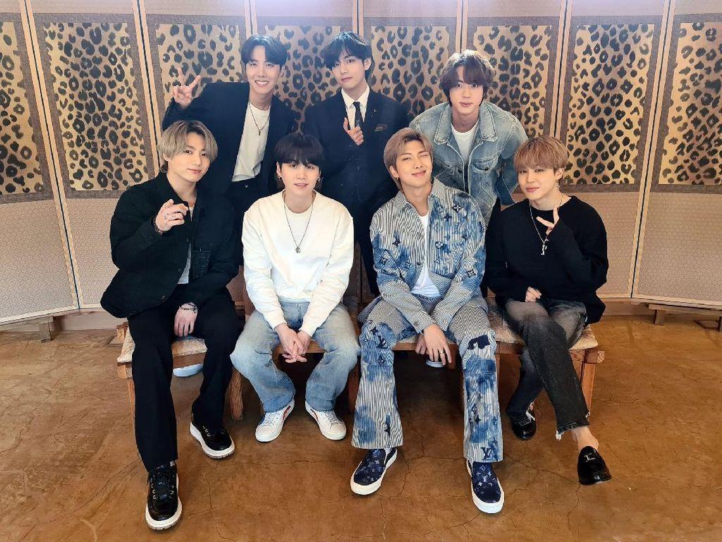 Konser BTS BANG BANG CON 2021 Ditonton 2,7 Juta Orang di Seluruh Dunia