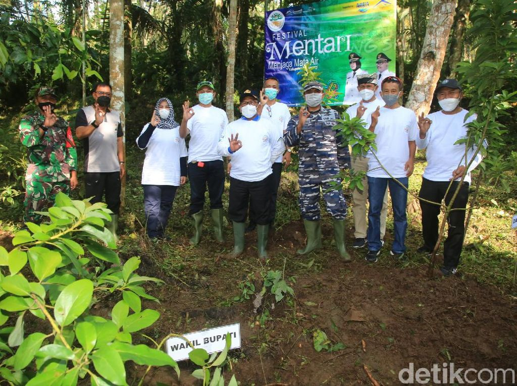 Banyuwangi Kampanye Tanam Pohon Berdaya Serap Tinggi Jaga Sumber Mata Air