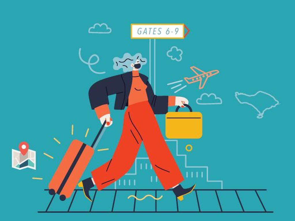Syarat Turis Asing Pelesir ke RI Lagi Digodok, Nih Bocorannya