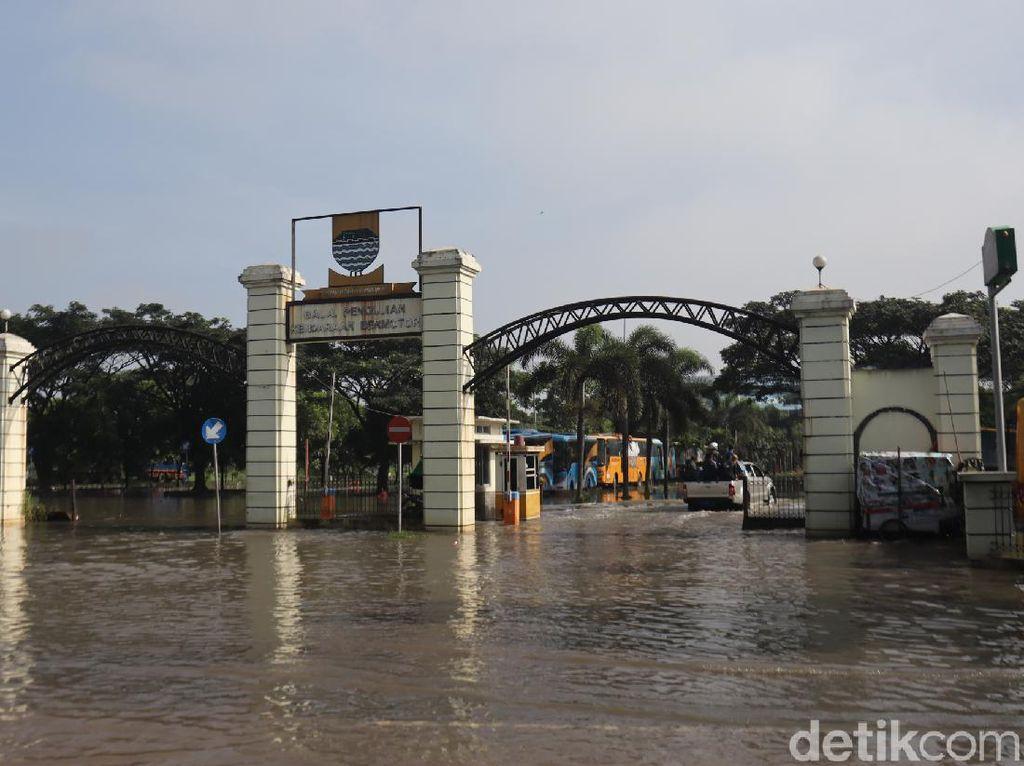 Kantor Dishub Bandung Terendam Banjir, Walkot Oded: Harus Evaluasi