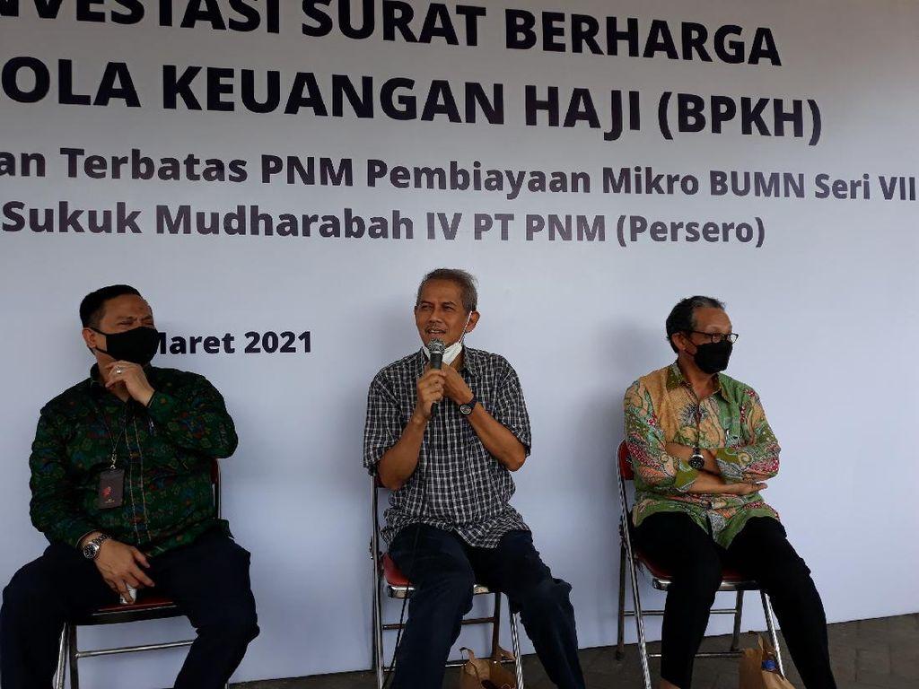 Sejahterakan Pelaku Usaha Mikro, BPKH Investasi Dana Haji ke PNM