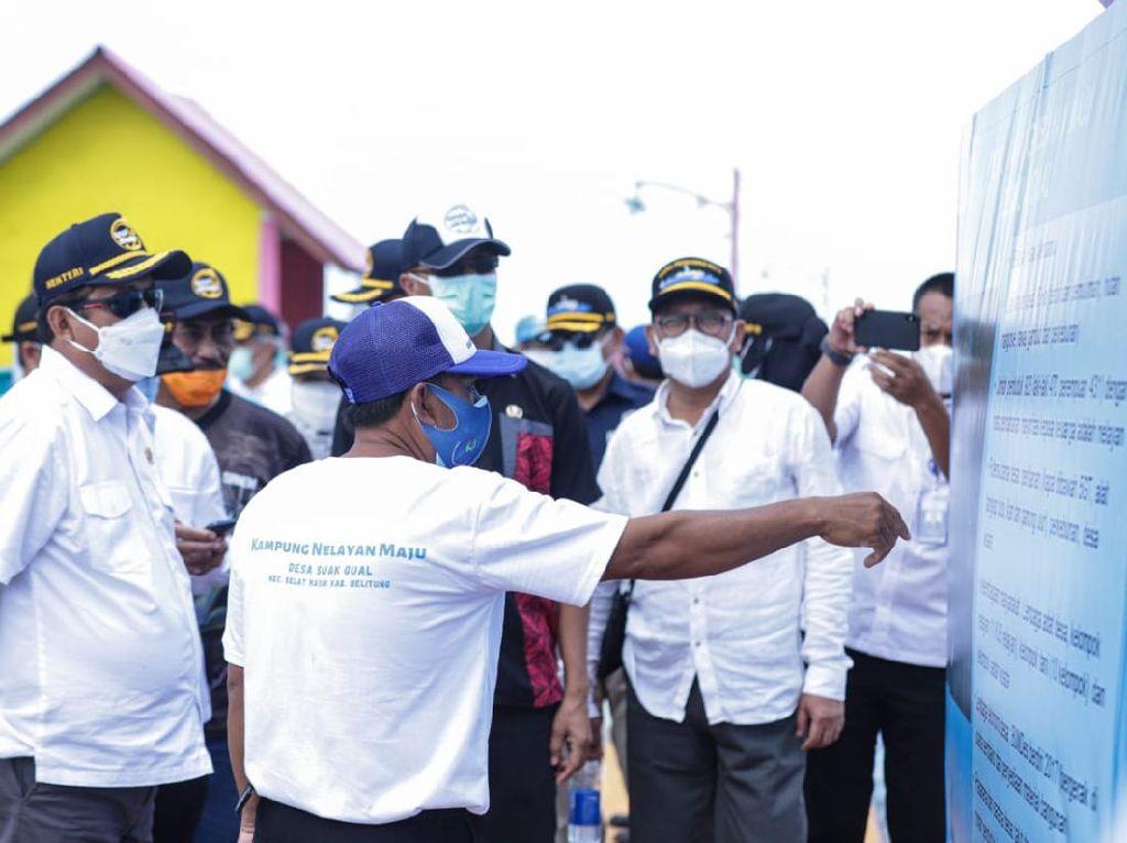 Desa Suak Gual di Belitung Jadi Percontohan Kampung Nelayan