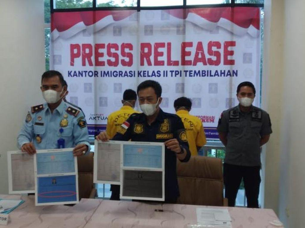 Masuk RI Secara Ilegal, 2 WN Timor Leste Diamankan di Riau