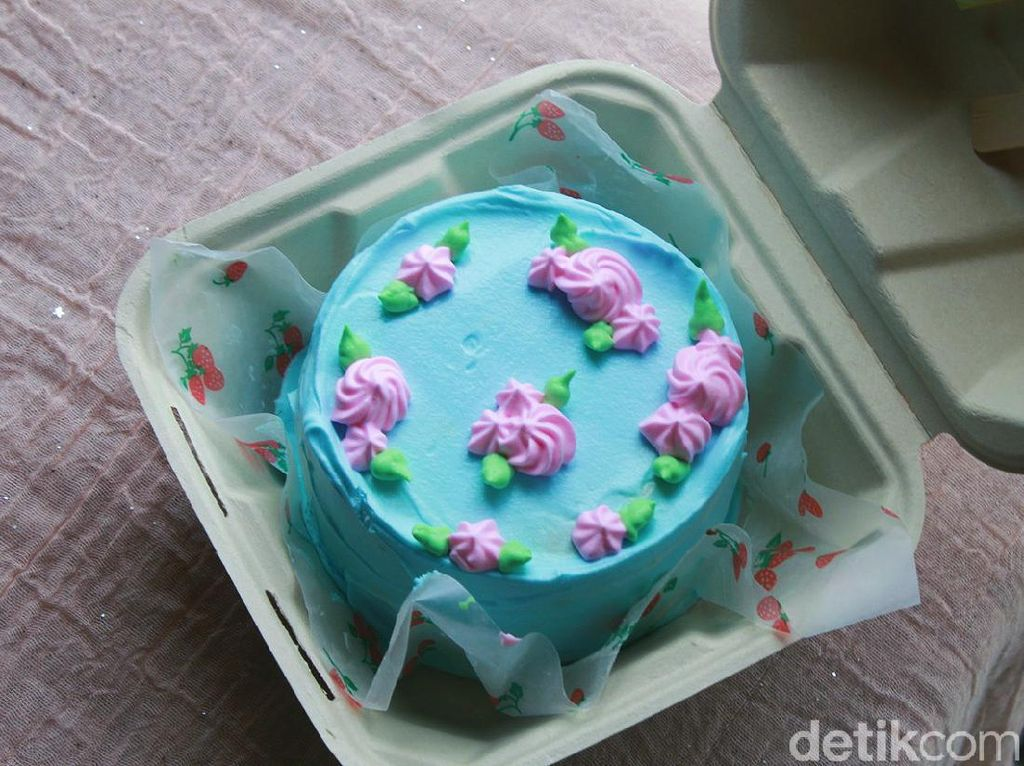 Unik! Lunch Box Cake Korea dengan Bahan Vegan