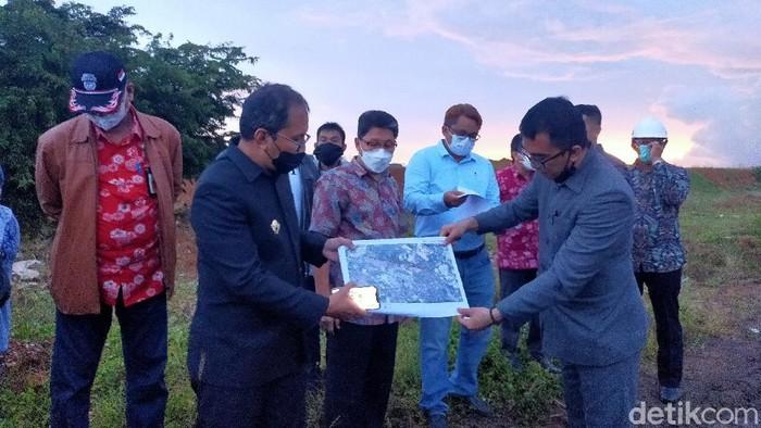 Pemkot Makassar menyiapkan lahan baru untuk Stadion Andi Mattalatta.