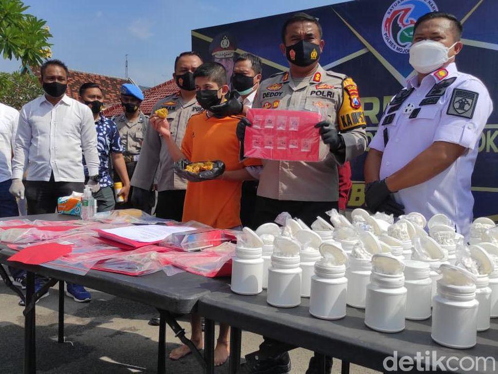 Bandar yang Tipu Emak-emak Selundupkan Sabu ke Lapas Mojokerto Ditangkap