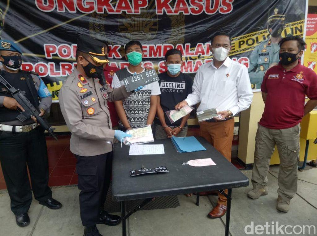 Ngaku Terinspirasi Sinetron, Maling di Semarang Colong Motor Ojol