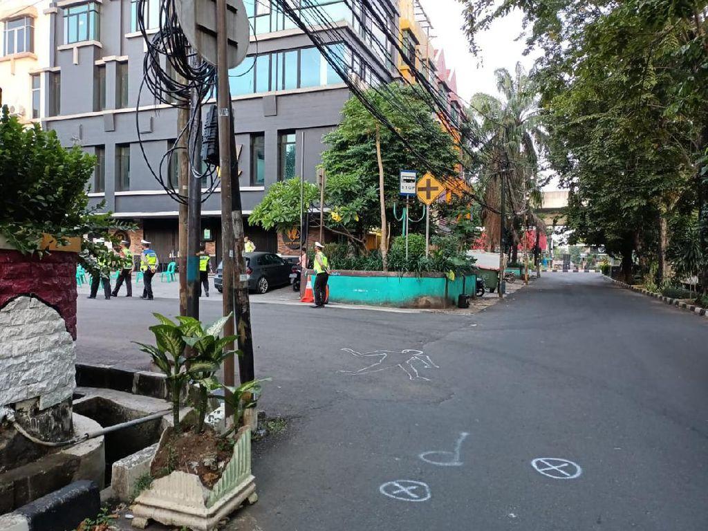 Olah TKP, Polisi Gali Kondisi Before-After Kecelakaan di Kelapa Gading