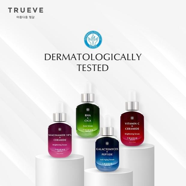 Serum Trueve Telah Lulus Dermatologist Tested