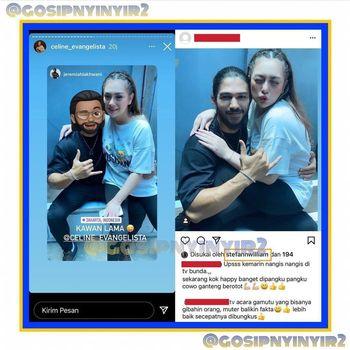 Stefan William Ketahuan Like Foto Celine Lagi Dipangku Cowok Berotot