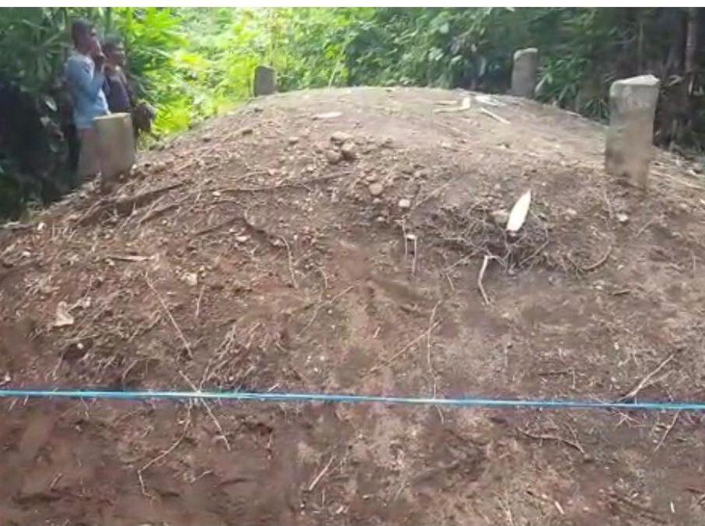 Heboh Tanah Kuburan Menggelembung di Padang Pariaman