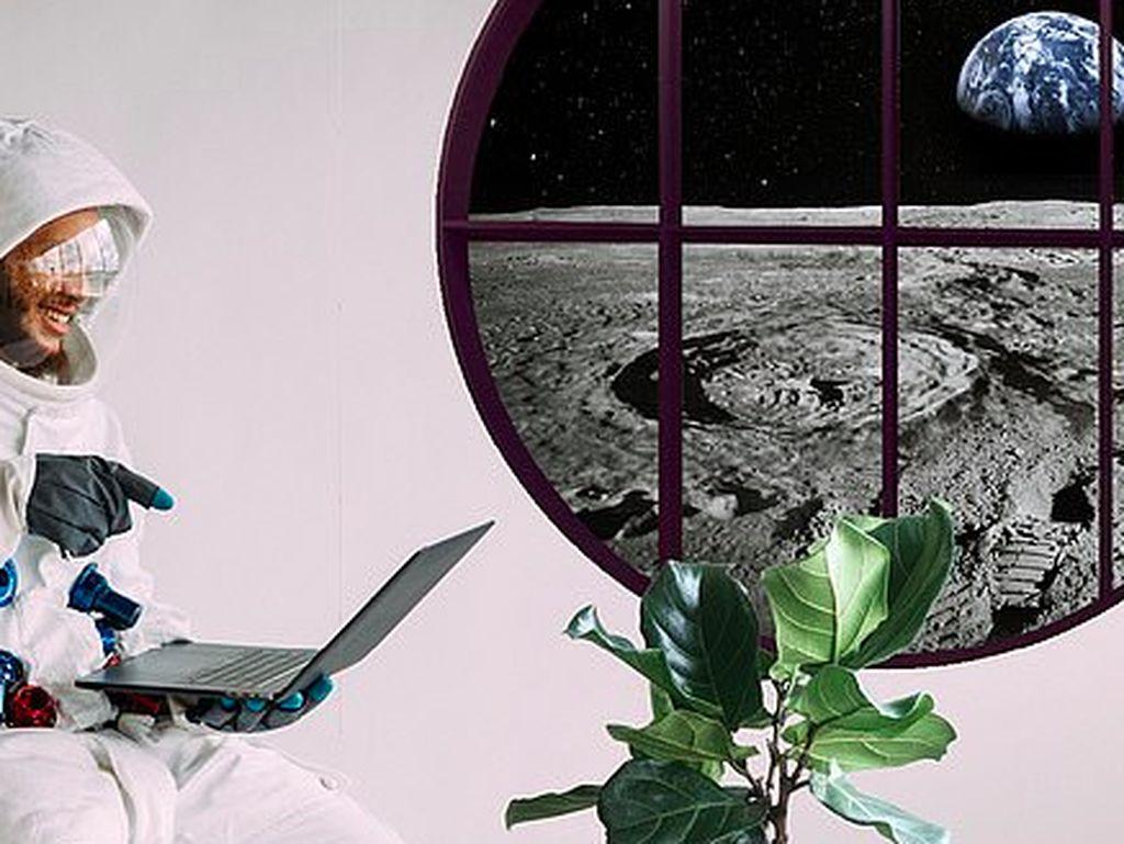 Hitung-hitung Biaya Buat yang Mau Tinggal di Bulan