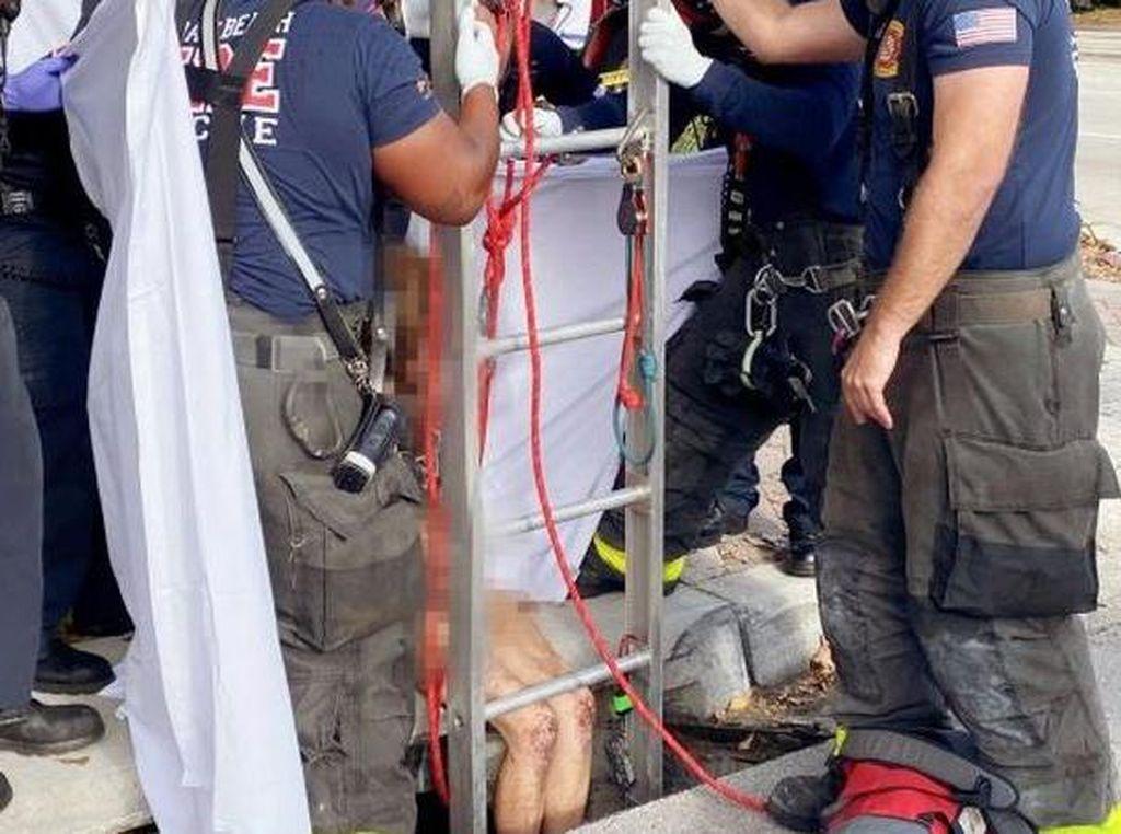 Hilang 20 Hari, Wanita Ini Ditemukan di Gorong-gorong dalam Kondisi Bugil