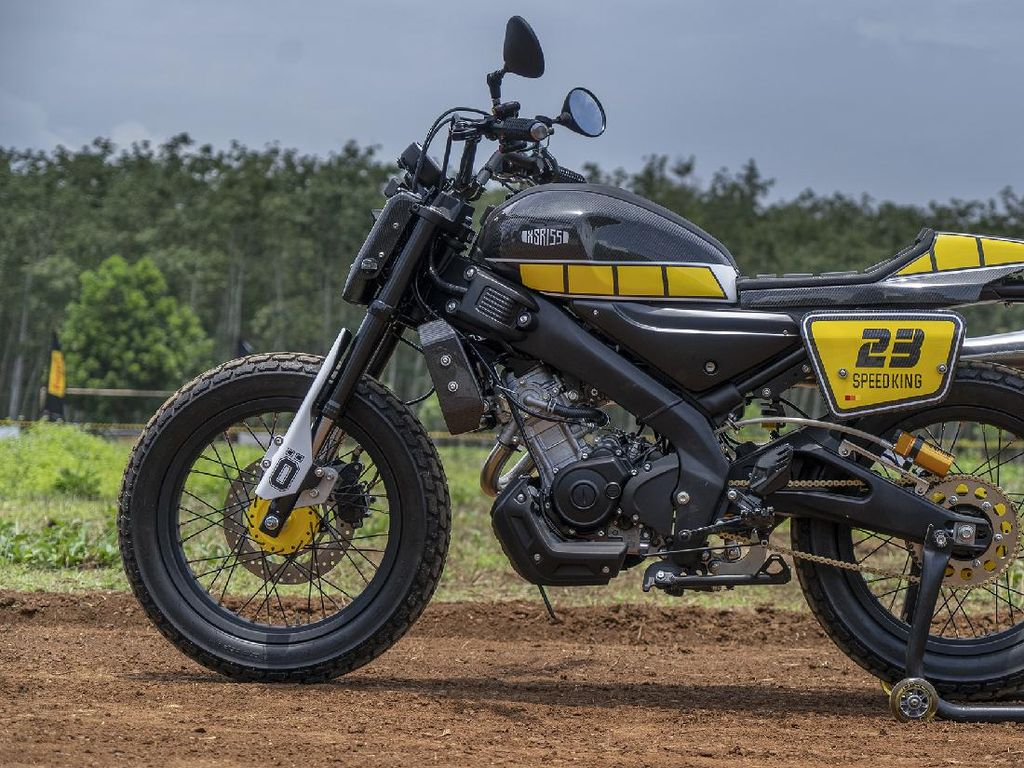 Inspirasi Modifikasi Yamaha XSR 155