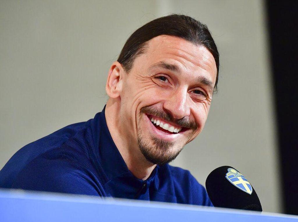 AC Milan Jangan Cemas, Ibrahimovic Tak Cedera