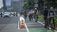 PDIP DKI Setuju Jalur Sepeda Permanen Dibongkar: Sejak Awal Bermasalah!