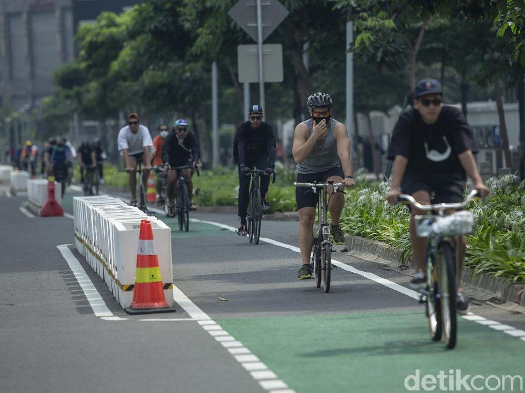 Seiya Sekata Kapolri dan Politikus Senayan Ingin Bongkar Jalur Sepeda