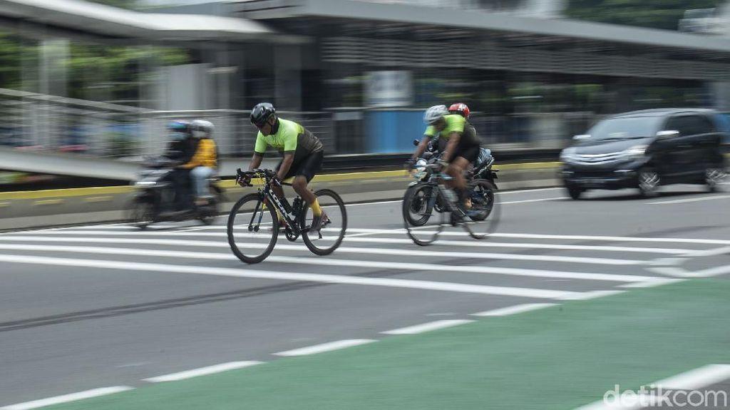 Dispensasi Road Bike Gowes Keluar Jalur Sepeda Diklaim Merepotkan