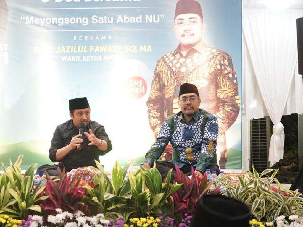 Jelang Konferwil NU DKI, Jazilul Undang Yusuf Mansur Gelar Doa Bersama
