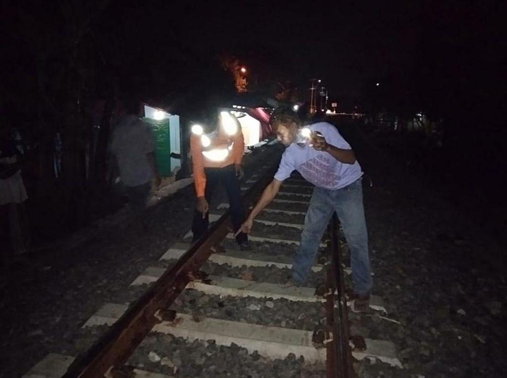 Main Petasan di Rel, Bocah Kota Pasuruan Tewas Tertabrak Kereta Probowangi