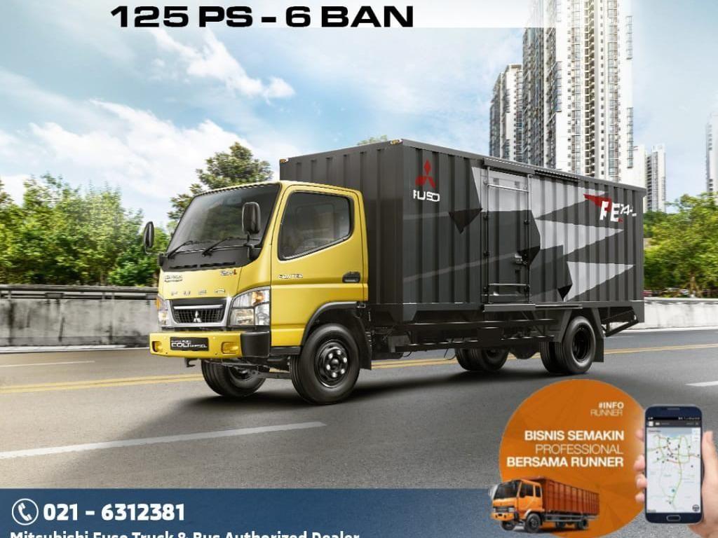 Mitsubishi Colt Diesel & Fuso Punya GPS Tracker RUNNER Telematics