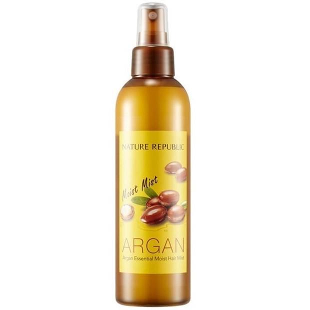 Nature Republic Argan Essential Moist Hair Mist/naturerepbulic.id