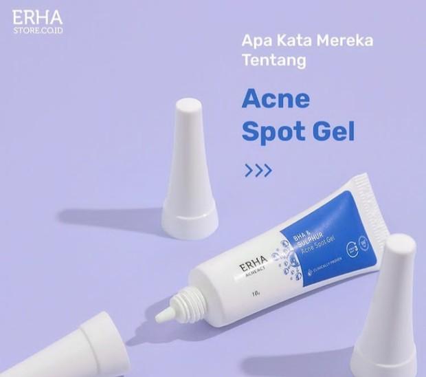 Rekomendasi Produk Untuk Kulit Kering Berjerawat/Instagram.com/erha.dermatology