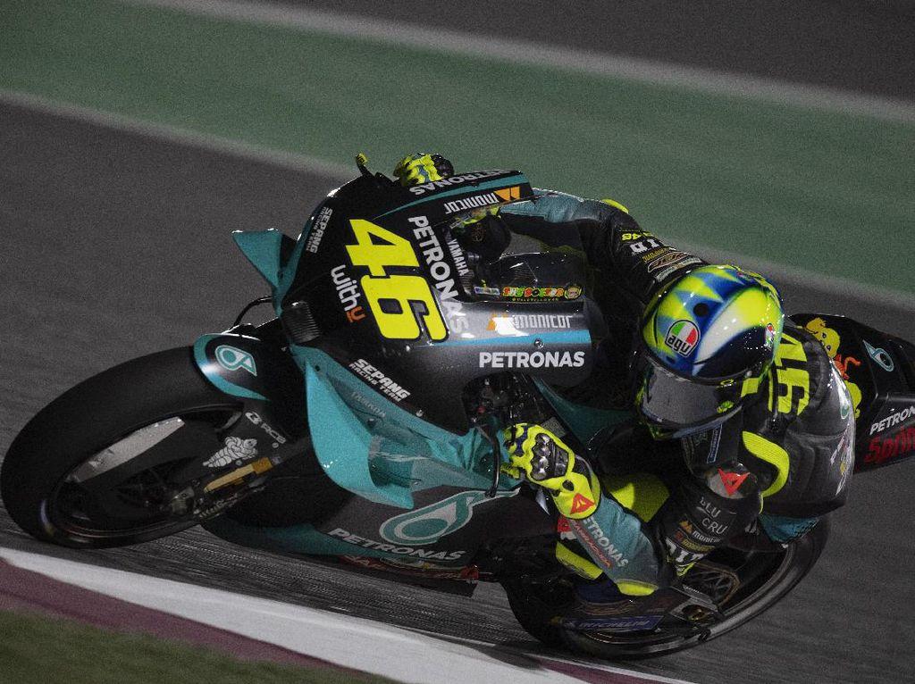 Terpuruk di Latihan Bebas MotoGP Doha, Mau Alasan Apa Lagi Rossi?