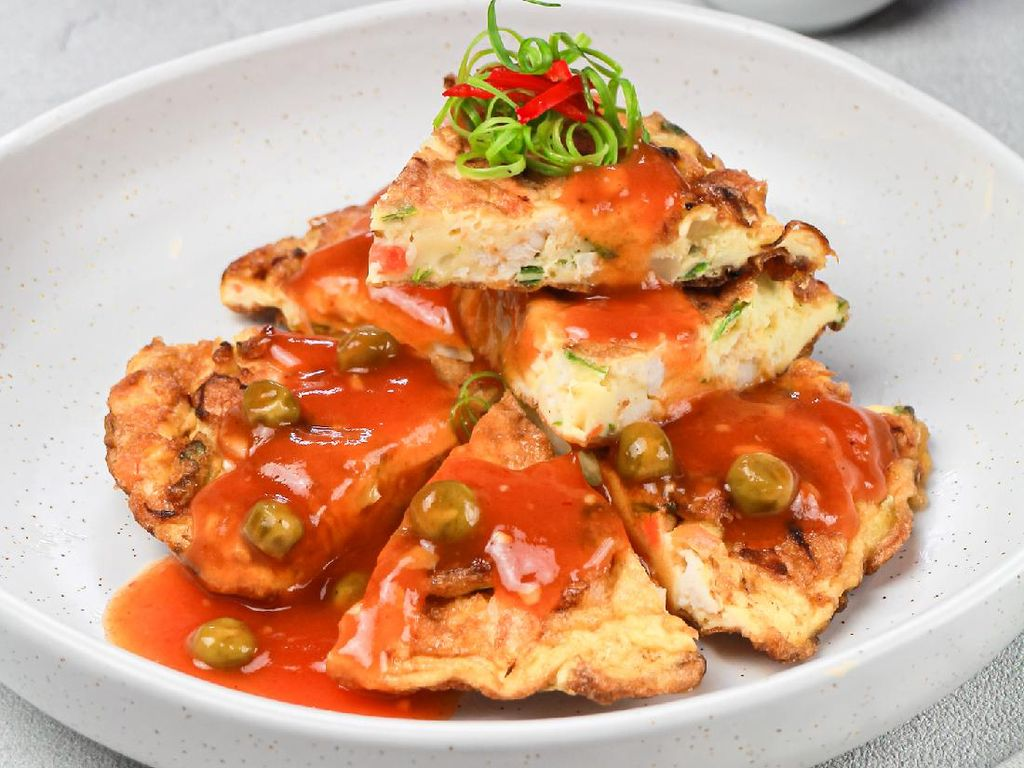 Resep Pembaca : Fuyunghai Ayam Udang ala Restoran Chinese Food yang Enak