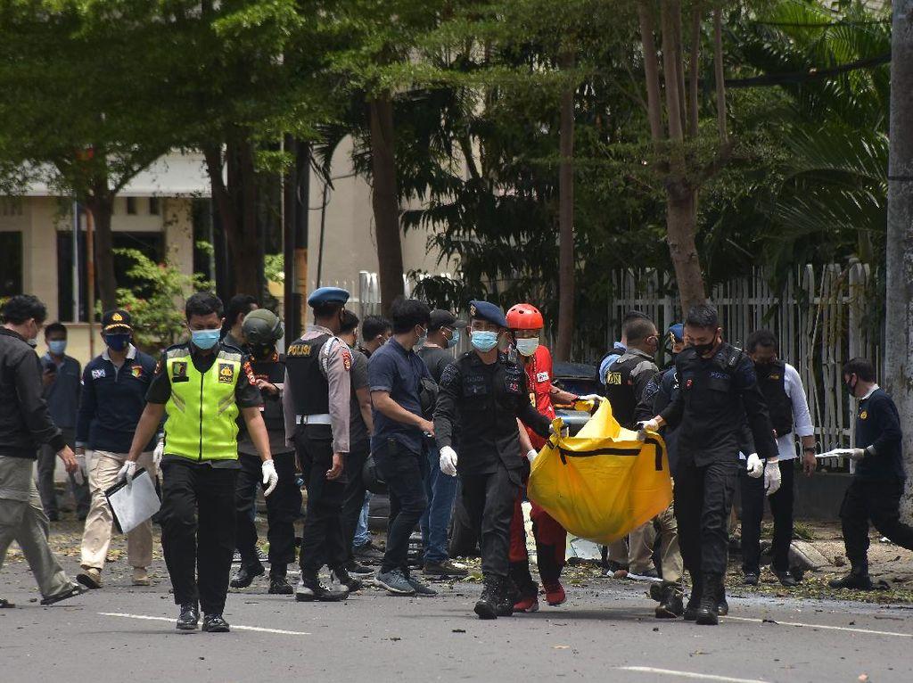 4 Korban Bom Bunuh Diri Makassar di RS Siloam Jalani Operasi