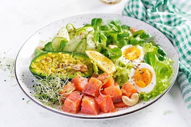 Diet macrobiotic yang mengusung konsep yin dan yang seimbang.