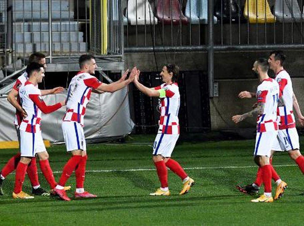 Hasil Kualifikasi Piala Dunia 2022: Kroasia Menang Tipis Atas Siprus