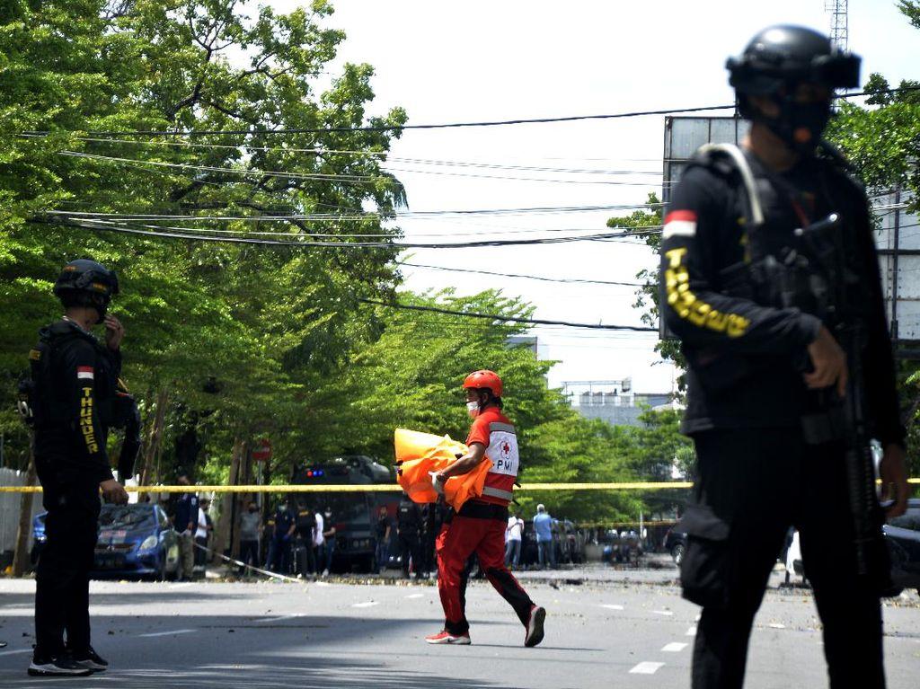 Densus 88 Tembak Mati 1 Terduga Teroris di Makassar