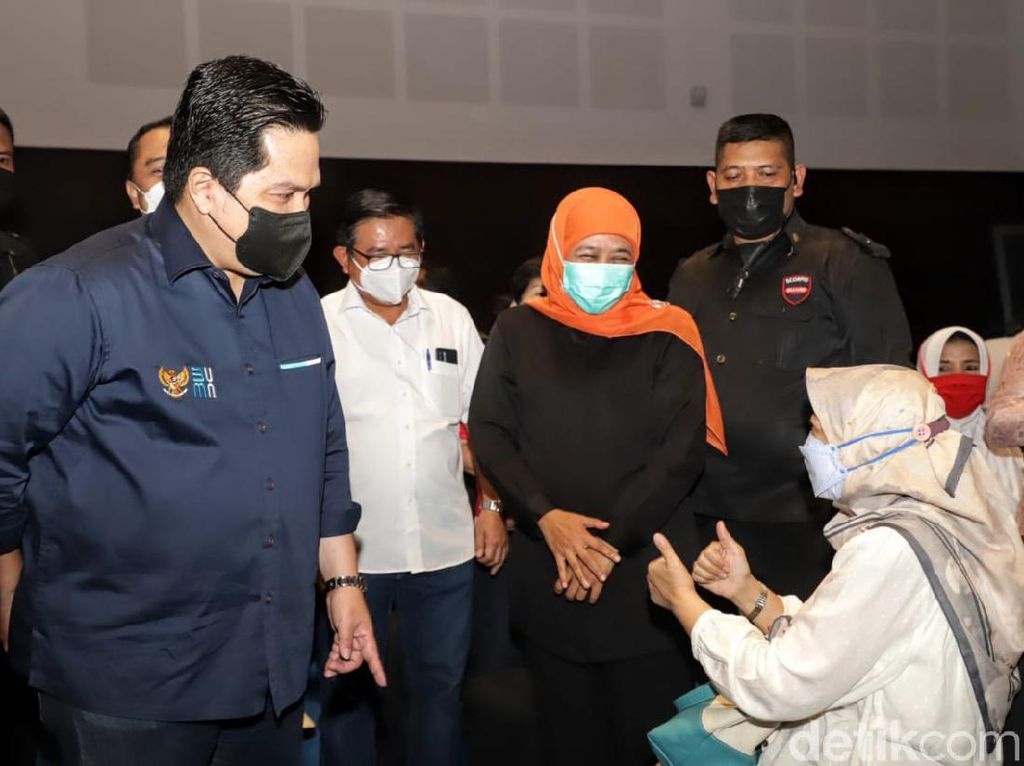 Menteri BUMN Sebut Bom Bunuh Diri di Makassar Bisa Ganggu Vaksinasi