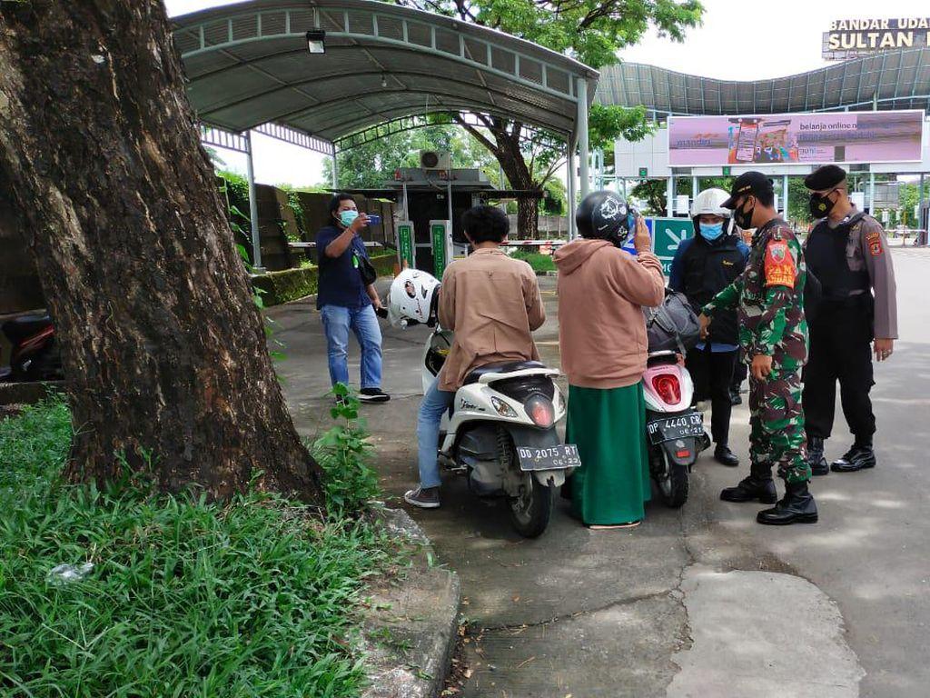 Pascabom Bunuh Diri di Makassar, Pengamanan Bandara Hasanuddin Diperketat